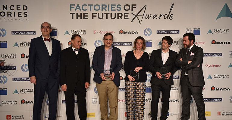Advanced Factories abre las candidaturas para los Factories of the Future Awards