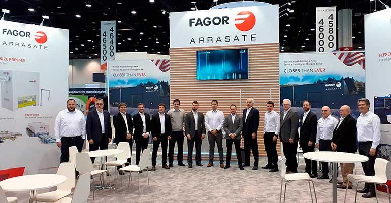 Fagor Arrasate anuncia una nueva planta en Chicago orientada a service