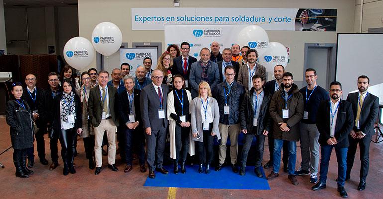 Carburos Metálicos celebra el primer aniversario de su centro logístico y de ventas para Extremadura