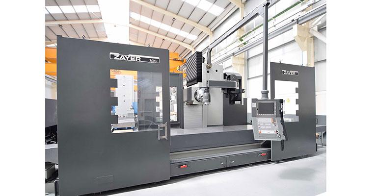 Fresadora CNC Bancada Fija Zayer 30 KFU-4000 AR