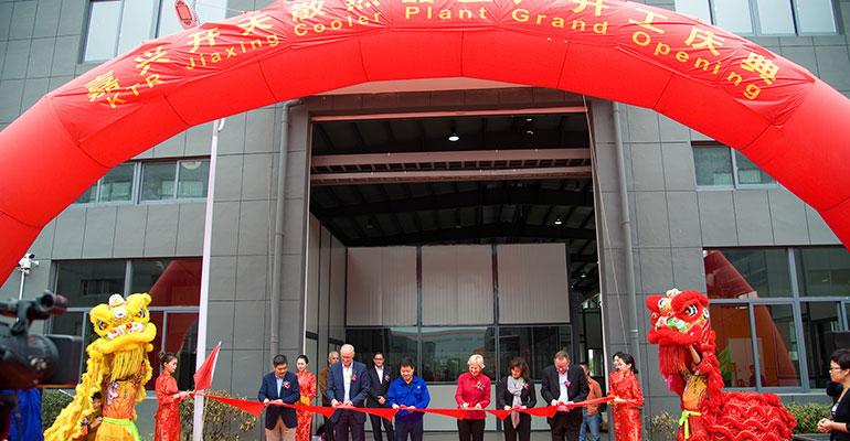 KTR abre una nueva planta de producción de refrigeradores en China