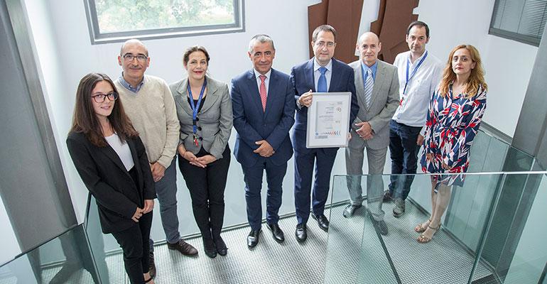 IK4-Lortek obtiene el certificado del Sistema de Gestión de I+D+i