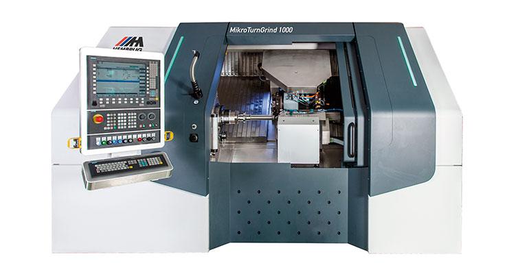 MikroTurnGrind 1000: las ventajas del torneado en duro y el rectificado de acabado en una sola máquina