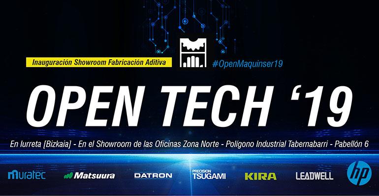 Maquinser organiza un Open Tech sobre fabricación aditiva