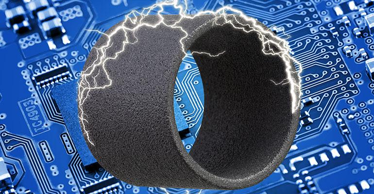 Nuevo material Igus SLS para piezas impresas en 3D electroconductoras y resistentes al desgaste