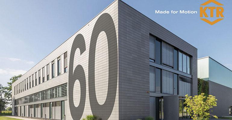 KTR celebra 60 años de innovación en la tecnología de transmisión