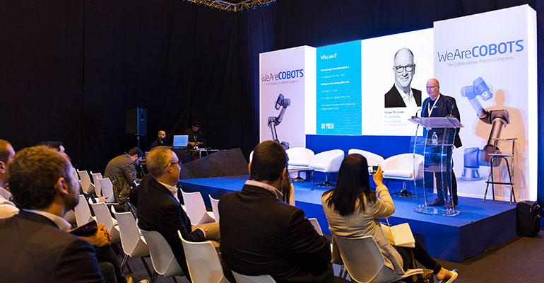 Más de 2.000 personas asisten a WeAreCOBOTS, el primer congreso mundial sobre robótica colaborativa