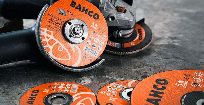 Bahco lanza su nueva gama de discos abrasivos