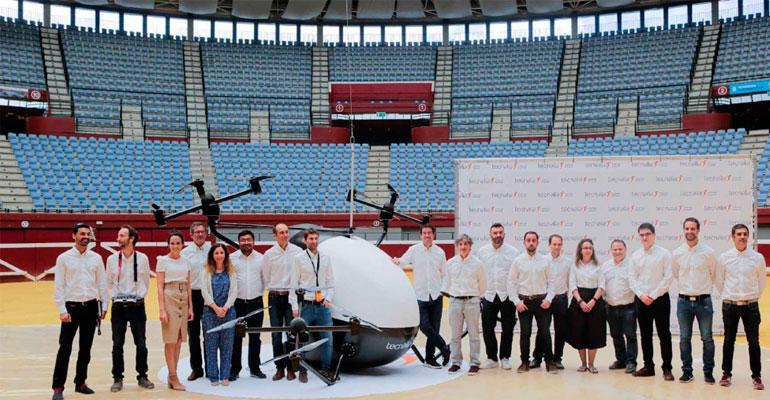 Tecnalia desarrolla el primer aerotaxi para desplazamientos urbanos