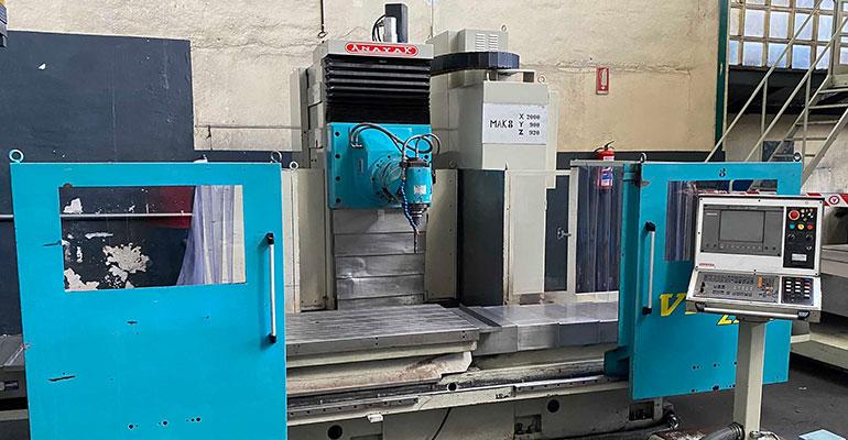 Fresadora CNC Bancada Fija Anayak VH-2200 en liquidación
