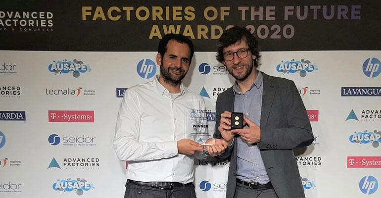 Atten2, premio al mejor equipo industrial para la fábrica del futuro