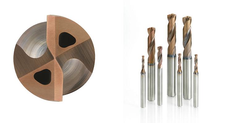 Brocas DSAS para el mecanizado de materiales termo-resistentes