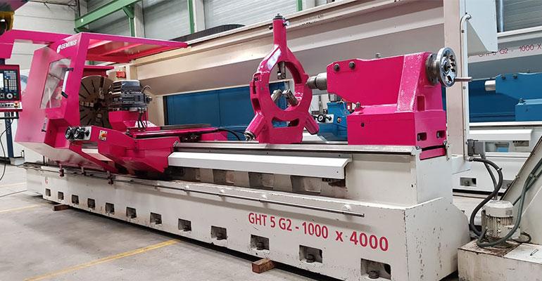 Torno CNC Geminis GHT 5 G2 1000x4000