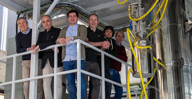 Ceit instala en Miramón su nuevo equipo de atomización