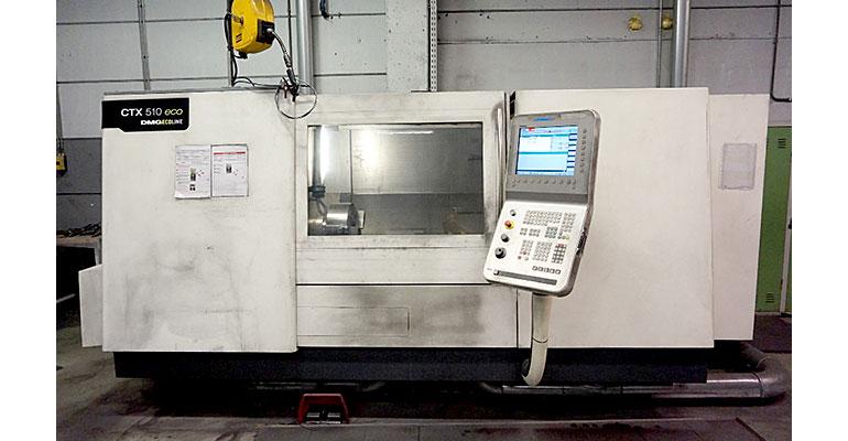 Centro de mecanizado DMG CTX 510 ECO