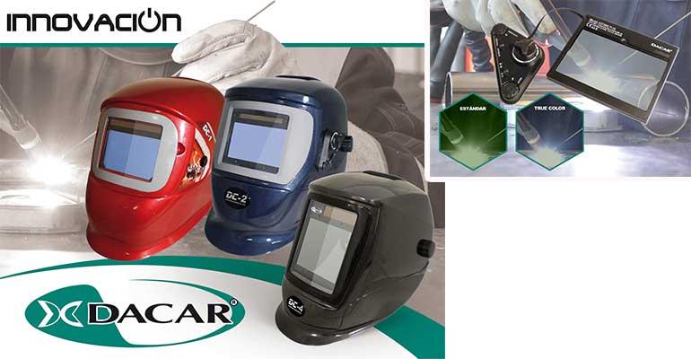 Protección, confort y visión a todo color: nuevos modelos de caretas de soldar de Dacar