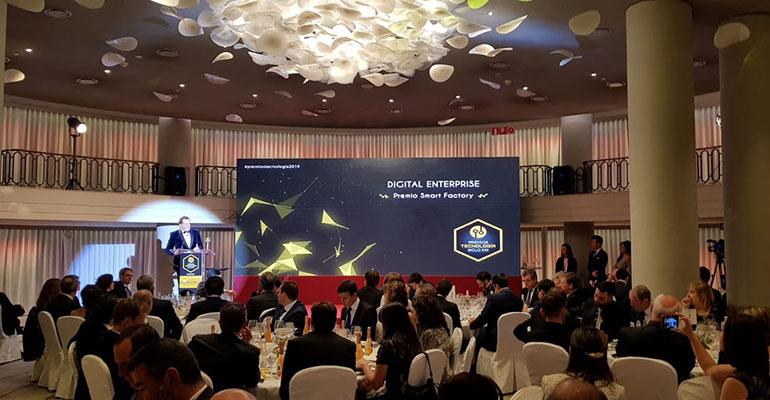 Digital Enterprise recibe el Premio Nacional Tecnologías Siglo XXI en la categoría ´Smart Factory´