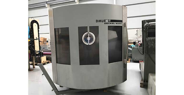 Centro de Mecanizado 5 Ejes DMG DMU 80T con Heidenhain 426