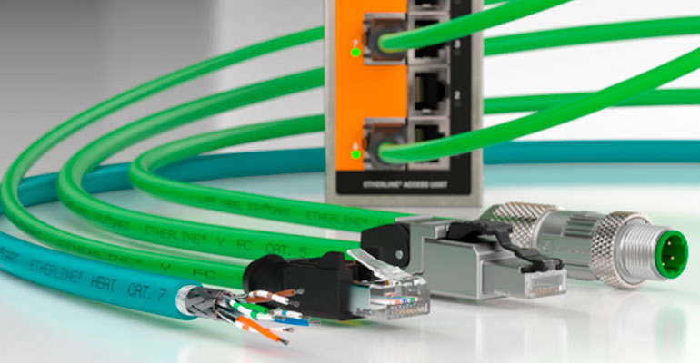Productos de LAPP para Ethernet industrial