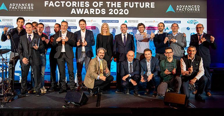 Gestamp y la fábrica Rossignol, ganadores de los Factories of the Future Awards 2020