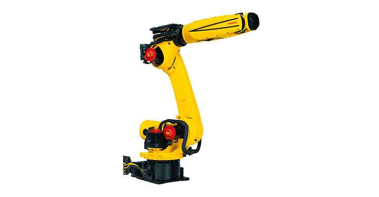Nuevo R-2000iD: Diseño de brazo hueco para aumentar su productividad