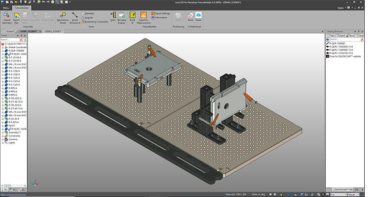 Renishaw presenta una nueva versión del software de modelado 3D FixtureBuilder