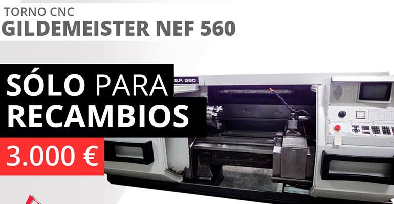 Torno Gildemeister NEF 560
