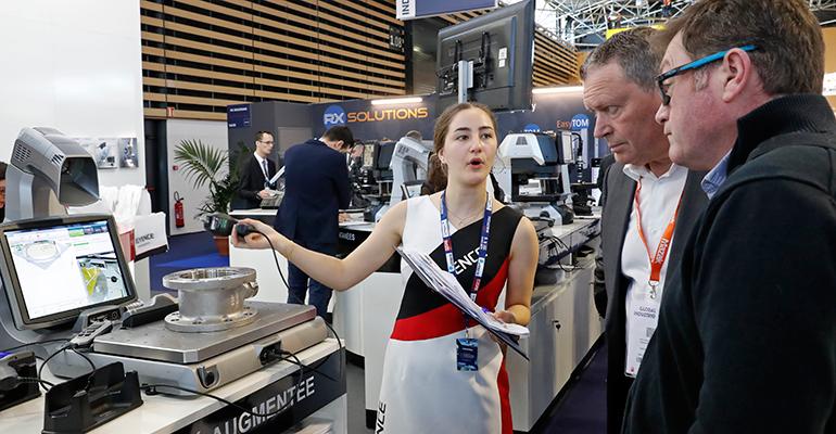 Global Industrie Lyon bate récords de asistencia