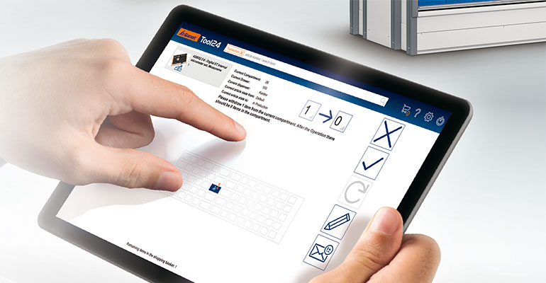 Un nuevo software para que la gestión y el control de los sistemas de herramientas Garant Tool24 sea más eficiente