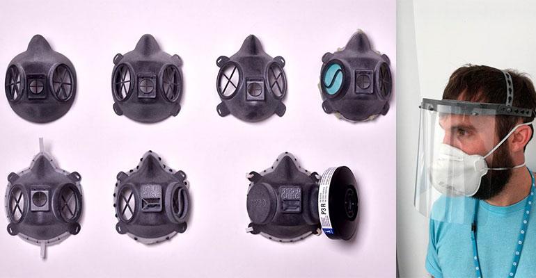 HP y sus socios ponen en marcha soluciones de impresión en 3D para luchar contra Covid-19