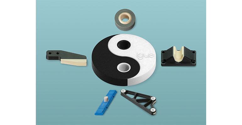 Igus ofrece un alto grado de libertad de diseño con la impresión 3D multicomponente