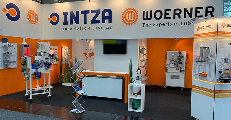 Intza + Woerner, expertos en lubricación, juntos en la EMO 2019