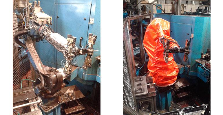 Fundas para robots de JKE Robotics