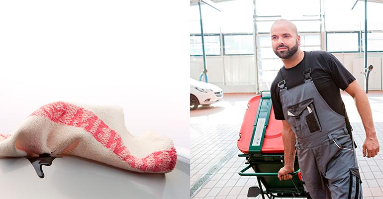 El textil-sharing de MEWA es inteligente, sostenible y eficiente