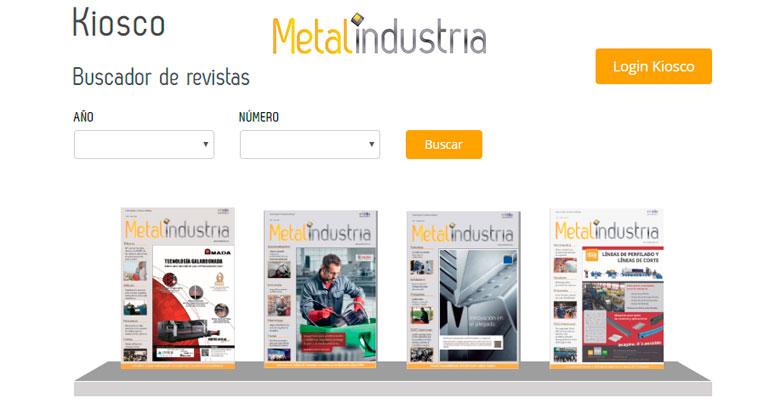 Metalindustria continúa al servicio de las necesidades informativas del sector