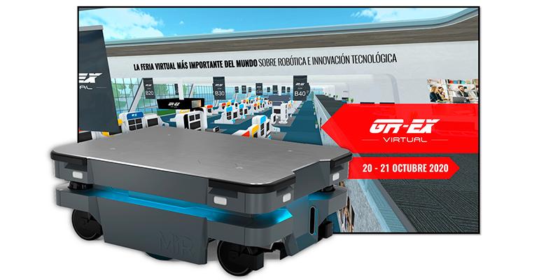 Mobile Industrial Robots participa en las ferias GR-EX Virtual y Digital JAI'2020