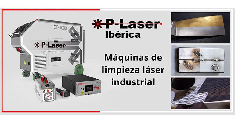 P-Laser, limpieza láser industrial