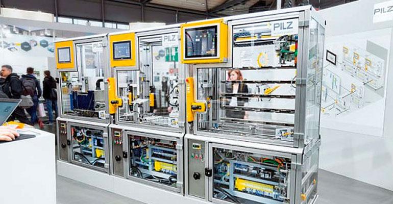 Pilz muestra en Advanced Factories cómo la seguridad avanza al ritmo de la fábrica digital con sistemas ROS seguros y modulares