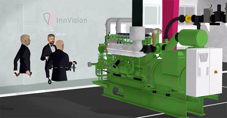 Innovae soluciona con realidad virtual el reto de presentar productos complejos sin viajar