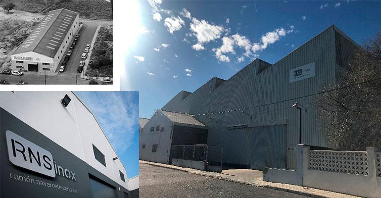 RNSinox amplía sus instalaciones para incrementar su presencia en el mercado y aumentar su capacidad productiva