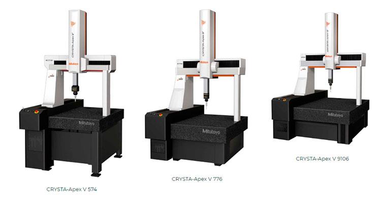 Sariki presenta la nueva serie de máquinas tridimensionales CNC de alta precisión Mitutoyo Crysta-Apex V