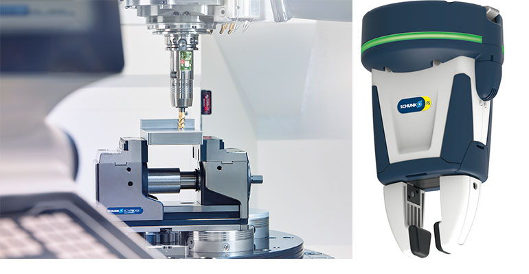 Schunk presenta sus novedades en clamping y gripping en Advanced Factories