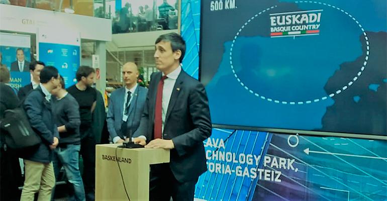 Euskadi-Basque Country celebra su día en Hannover Messe