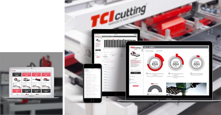 TCI Manager, el software inteligente para la gestión de la producción de TCI Cutting