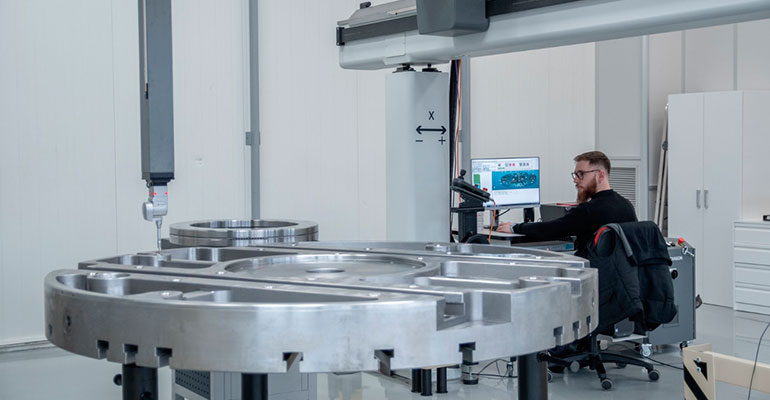 Máquina de medida tridimensional de grandes dimensiones, ya operativa en TDG