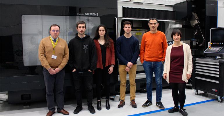 Danobatgroup premia un proyecto diseñado por estudiantes de Tecnun
