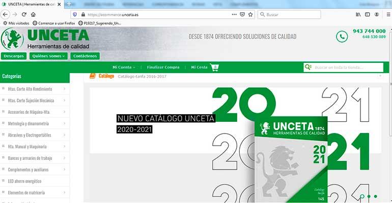 Unceta presenta su nuevo catálogo con más de 45.000 referencias