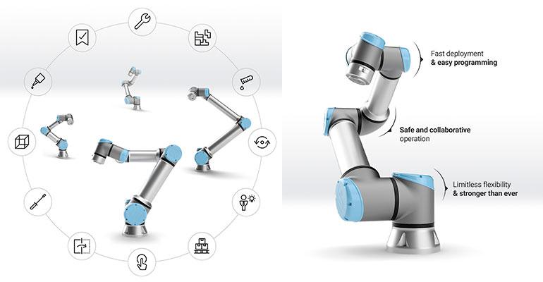 Universal Robots lanza UR16e, un cobot para cargas pesadas que acelera la automatización colaborativa