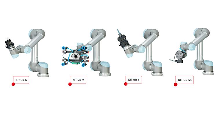 Gimatic presenta su gama de kits de integración con robots colaborativos de Universal Robots