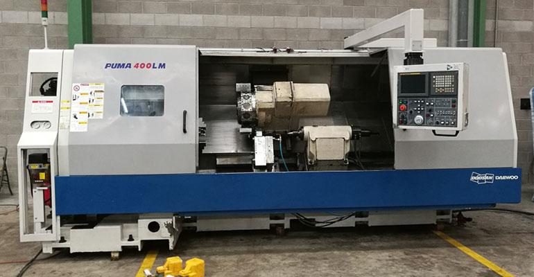 Torno Daewoo CNC Puma 400 LMB